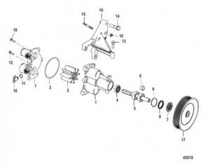 Схема Sea Water Pump Assembly