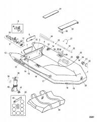 Схема Модели Quicksilver Roll Up (Белый)
