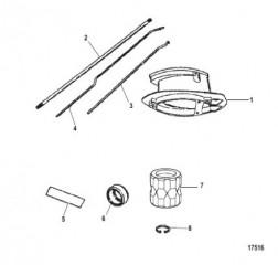 Схема Комплект удлинителя Корпус ведущего вала (12426A5 / A6)