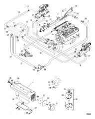 Схема Закрытая система охлаждения
