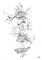 CARBURETOR (ROCHESTER)(205 - 4.3L/LX)