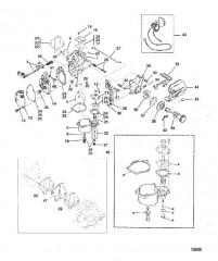 Схема Карб. (6/8)(9.9 -USA-С/Н-0G112449/BEL-С/Н-9831799 и ниже)
