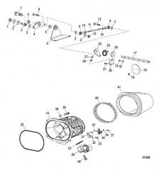 Компоненты на впуске (Воздушная камера)