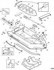 Модель Air Deck (Светло-серый), высокого давления