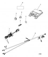 Комплект блока управления Панельное крепление – DTS