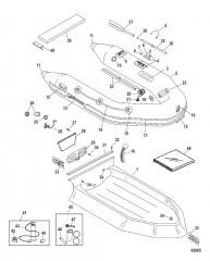Схема Надувные лодки Dynamic из хайпалона 280/310 (Merc 2010/2011)