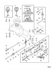 Схема ТОПЛИВНЫЙ БАК (СЕРИЙНАЯ ГРУППА №1)