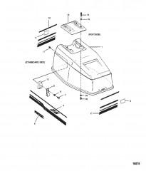 Крышка двигателя  (Модели Force)