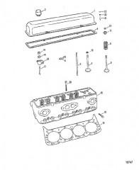 Головка цилиндра (370/400/440-С/Н-5670298 и ниже)