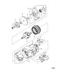 Схема Генератор (Mando №AC-155603)