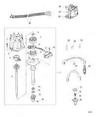 Распределитель и компоненты системы зажигания