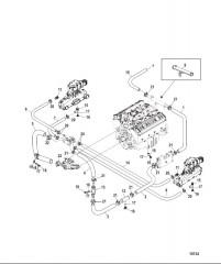 Стандартная система охлаждения (ALPHA) (7-точечный слив)