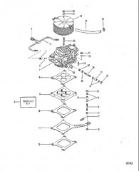 Карбюратор и тяга (440/460)