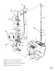 Схема Картер редуктора (Ведущий вал)