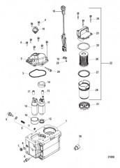 Схема Компоненты топливного модуля