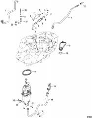 Система подачи топлива Шланги и модуль