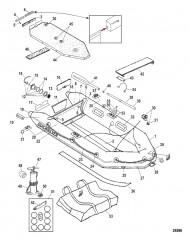 Схема Модели Air Deck (Белый)