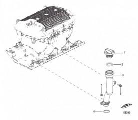 Схема Маслозаливная труба