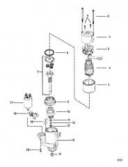 Схема Стартер Delco Remy PG-260, колпачок диаметром 2.87