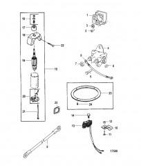 Комплект преобразования электрического пуска (50-90983A3)