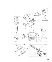 Схема Компоненты системы электрического пуска