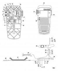 Схема Ножная педаль в сборе (MLP300912)