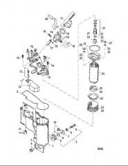Система контроля топлива (0G367000 и выше)