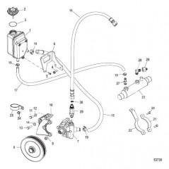 Схема Компоненты рулевого механизма