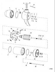 Схема Нижний блок в сборе (55# – переменная) (MCV39701T)
