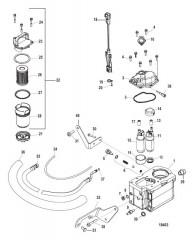 Схема Fuel Supply Module Bravo