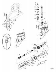Схема Картер редуктора (Bravo I XR/SportMaster/Sport)(0M955634 и выше)