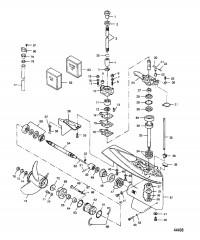 Схема Картер редуктора Модели на 20