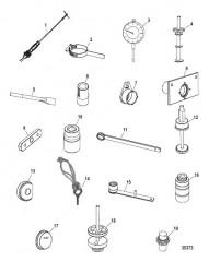 Список инструментов (Привод NXT1 – нижний)