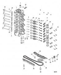 Головка цилиндра и распределительный вал