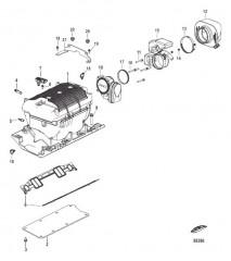 Схема Узел впускного коллектора