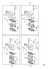 Схема Exhaust Risers