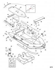 Схема Модели Air Deck (Белый и светло-серый Lodestar)