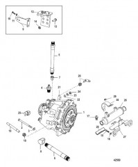 Схема Transmission And Related Parts (Borg-Warner 71C)