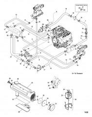 Закрытая система охлаждения (Простой слив)