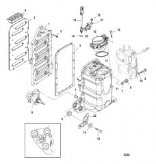 Схема Компоненты блока подачи воздуха