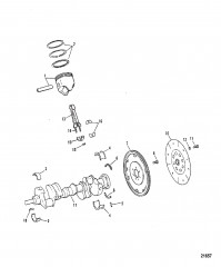 Crankshaft / Pistons / Connecting Rods