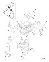 Схема Воздушный охладитель
