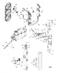 Схема Топливная система