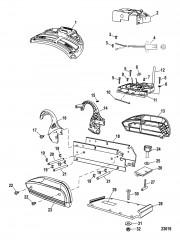 Электрические и крепежные компоненты (Беспроводные модели)