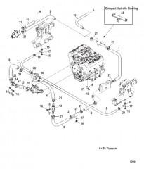 Стандартная система охлаждения (Многоточечный слив)
