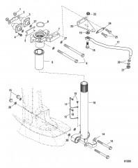 Рычаг рулевого механизма