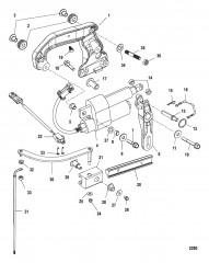 Компоненты механизма переключения передач