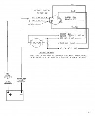 Схема электрических подключений (Модель HVT3000 / HVT3200) (12 В)