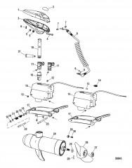 Двигатель для тралового лова в сборе (Модели для соленой воды)(конструкция I)