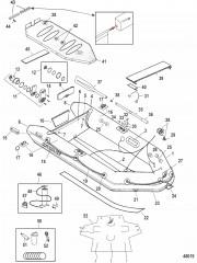 Модели Quicksilver Air Deck Белый (2011)
